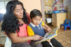 Children and Families_Head Start_Parent Reading to Child