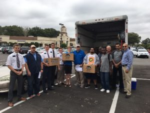 LSF Delivering Food donated by Metropolitan Ministries